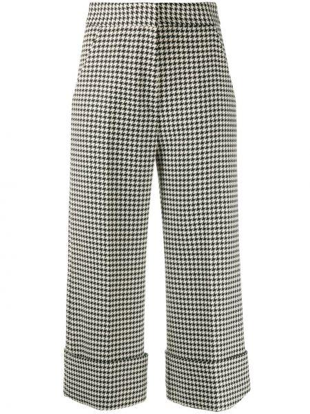 С завышенной талией укороченные брюки с карманами свободного кроя Smythe