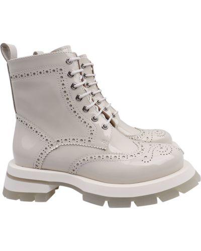 Кожаные ботинки Sasha Fabiani