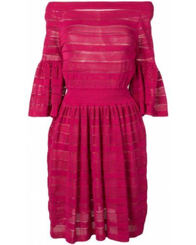 Платье розовое со вставками Antonino Valenti
