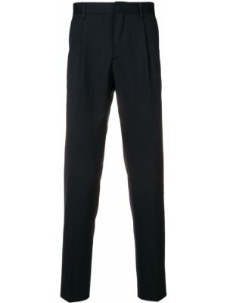 Темно-синие брюки с поясом Entre Amis