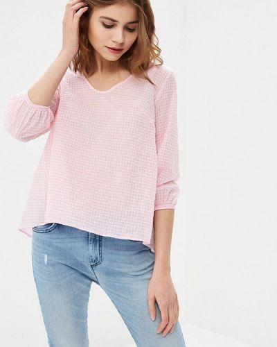 Блузка розовая весенний Sisley