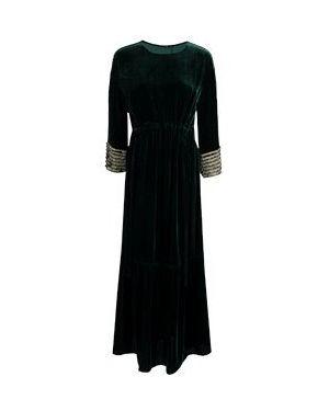 Вечернее платье зеленый Vuall