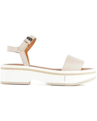 Beżowe sandały Clergerie