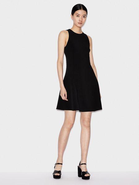 Платье рубашка - черное Armani Exchange