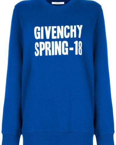 Толстовка с логотипом длинная Givenchy