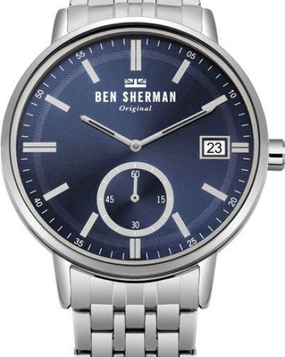 Часы водонепроницаемые деловые серые Ben Sherman