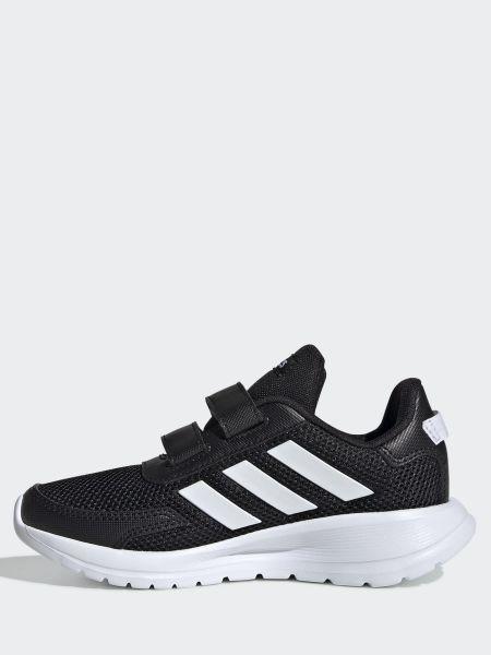 Черные кроссовки на липучках сетчатые Adidas