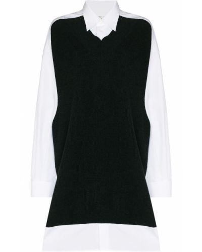 Платье миди с длинными рукавами - белое Maison Margiela