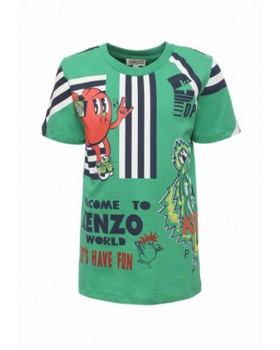 Футболка турецкий зеленый Kenzo