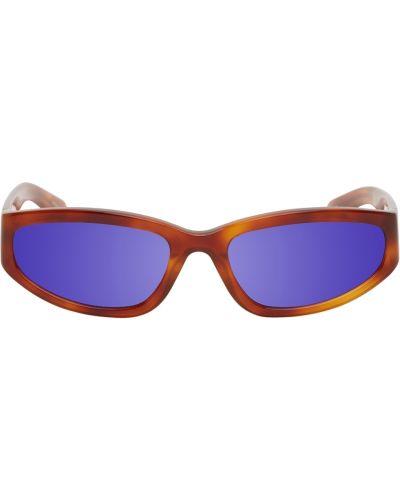 Okulary skorzane - czarne Flatlist Eyewear