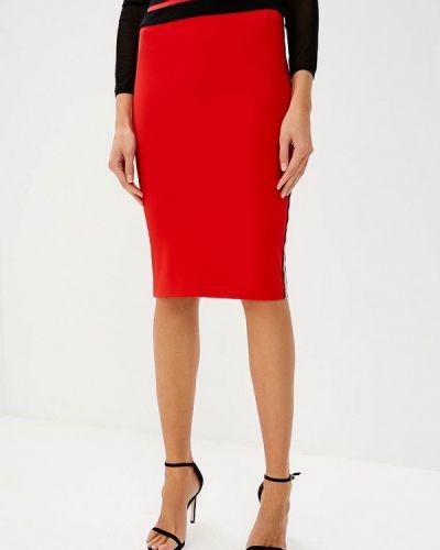 Красная юбка облегающая Patrizia Pepe