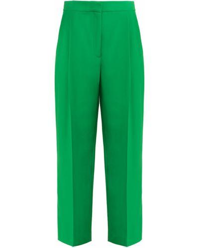 Укороченные брюки прямые со стрелками со складками Tara Jarmon