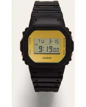 Czarny zegarek mechaniczny z paskiem Casio