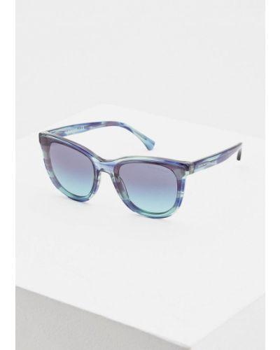Солнцезащитные очки 2019 круглые Emporio Armani
