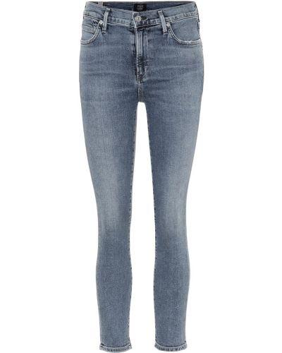 Укороченные джинсы скинни mom Citizens Of Humanity