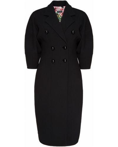 Укороченное пальто двубортное свободное Dolce&gabbana