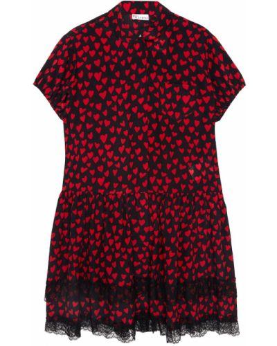 Платье миди винтажная шелковое Red Valentino