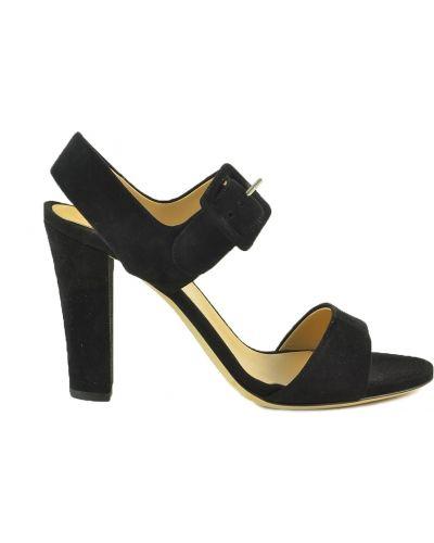 Czarne sandały Sergio Rossi