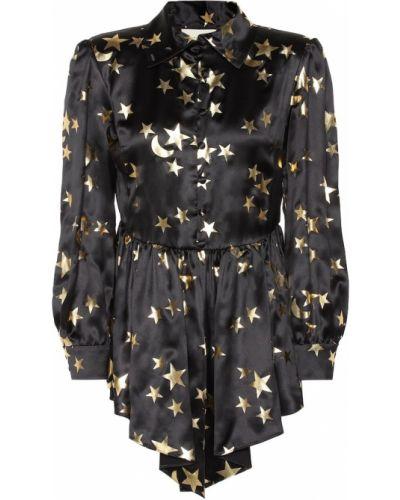 Блузка батник шелковая Gucci