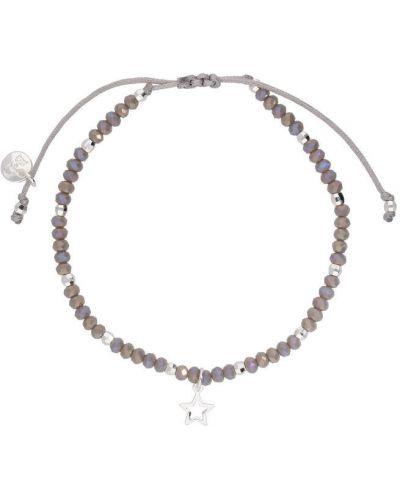 Браслет серебряного цвета By Dziubeka