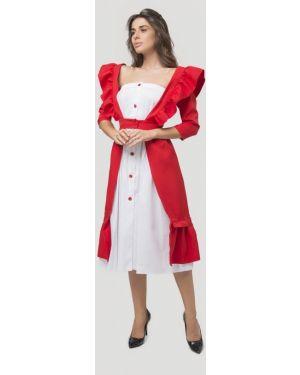 Вечернее платье - красное Lipinskaya Brand