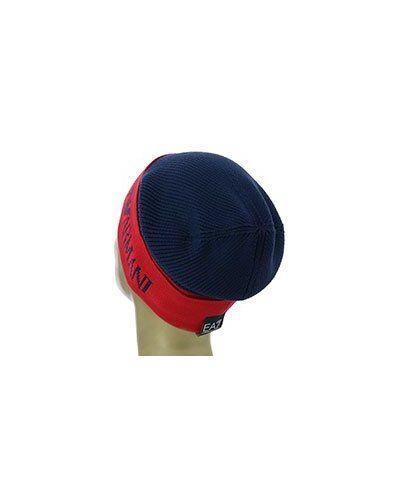 Синяя шапка Ea7