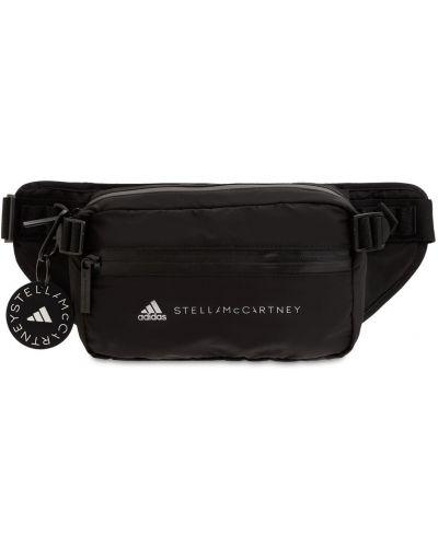 Черная сумка на молнии Adidas By Stella Mccartney