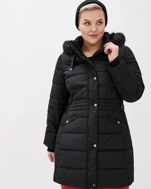 Зимняя куртка утепленная черная Evans