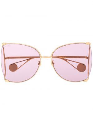 Okulary przeciwsłoneczne dla wzroku z perłami z logo Gucci Eyewear