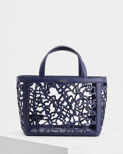 Синяя сумка Tous