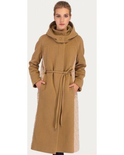 Пальто демисезонное бежевое Stimage