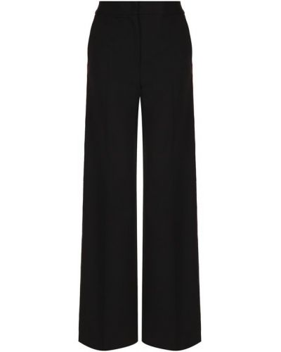 Классические брюки с лампасами расклешенные со стрелками Dolce & Gabbana