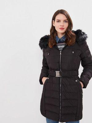 Утепленная куртка демисезонная черная Softy