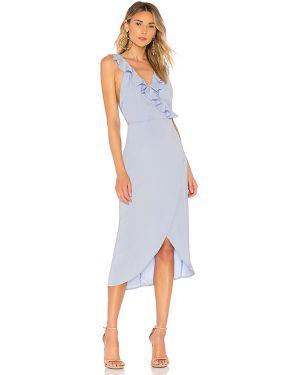 Niebieska sukienka midi About Us