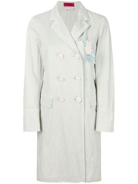 Прямое длинное пальто с капюшоном The Gigi