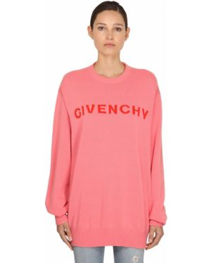 Свитер кашемировый с воротником-стойкой Givenchy