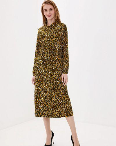 Платье - желтое Unq