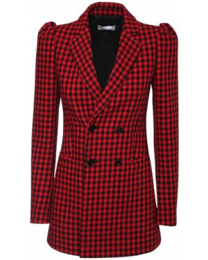Пиджак двубортный с накладными карманами Red Valentino