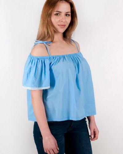 Голубая блузка Vergans