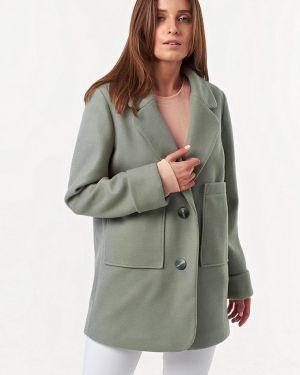 Пальто демисезонное зеленое Fly