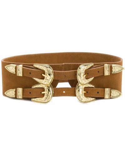 Коричневый корсет B-low The Belt