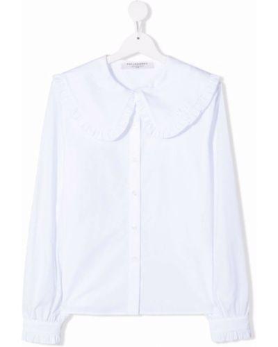 Bluzka oversize - biała Philosophy Di Lorenzo Serafini Kids
