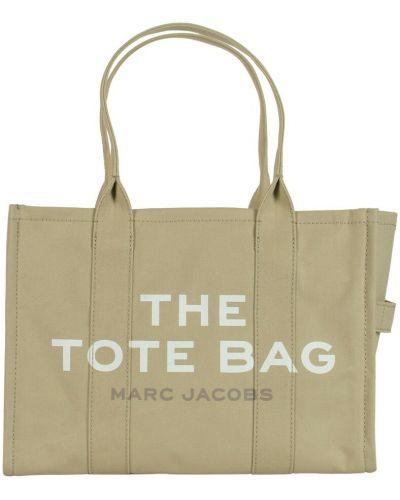 Torebka casual - beżowa Marc Jacobs