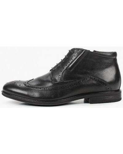 Черные кожаные ботинки Mascotte