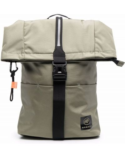 Рюкзак с логотипом - зеленый Mammut