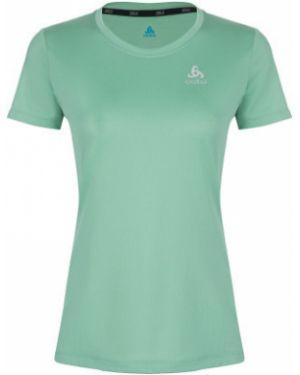 Спортивная футбольная прямая спортивная футболка для бега Odlo