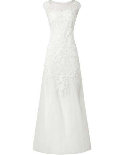Biała sukienka na wesele Mascara