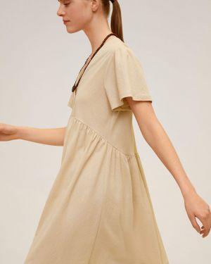 Sukienka mini codzienna przeoczenie Mango