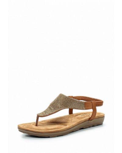 Коричневые сандалии Ella