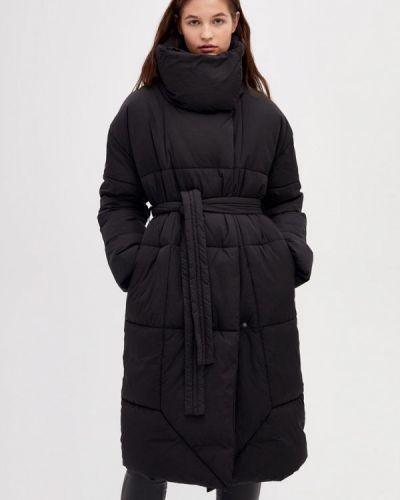 Утепленная куртка демисезонная черная Lime